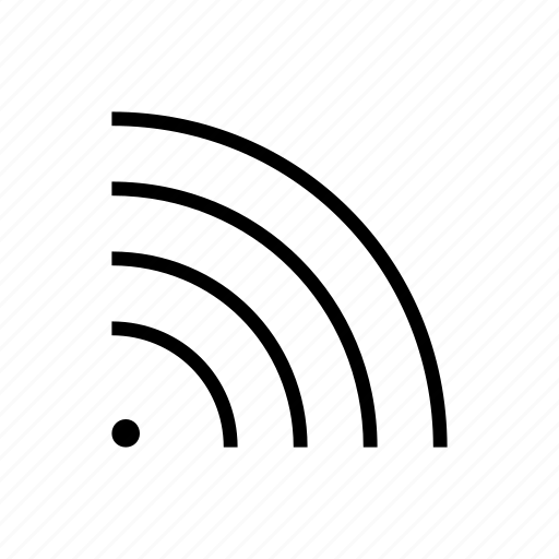 Feed Rays Rss Signal Waves Wifi Icon