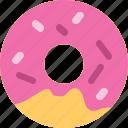 bakery, cake, dessert, doughnut, sweet icon
