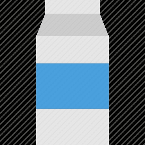 bottle, cardboard, drink, milk, sehat icon