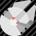 alat, falcon, grey, millenium, robot icon