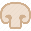 cooking, food, healthy, hidung, mushroom, restaurant icon