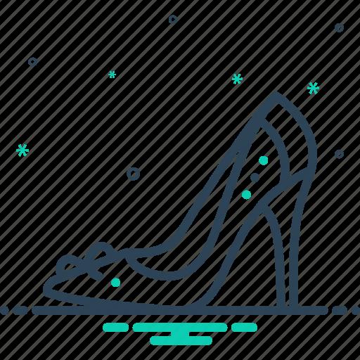 female, footwear, glamour, heel, high heel shoe, lady, sandal icon
