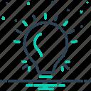 bulb, electric, energy, filament, idea, light, light bulb icon