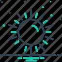 daystar, light, luminary, phoebus, sun, sunlight, sunshine icon