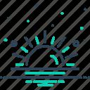 climate, daystar, light, luminary, phoebus, sun, sunshine icon