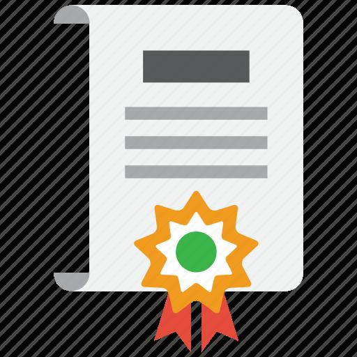 achievement, award, prize, ribbon icon