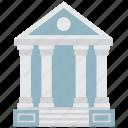 bank, banking, finance, university icon