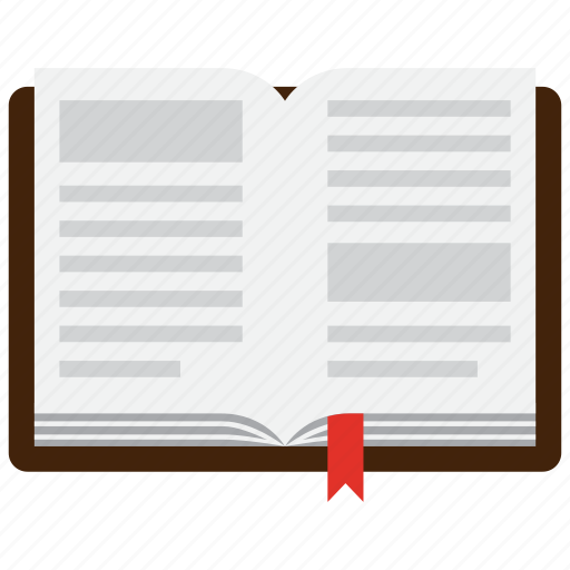 book, knowledge, learning icon