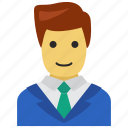 avatar, business, employee icon