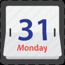 calendar, date, flip, time icon