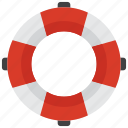 lifebuoy, lifeguard, lifesaver, sea icon