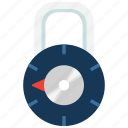 lock, locked, padlock icon