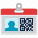 business, identity, nametag icon