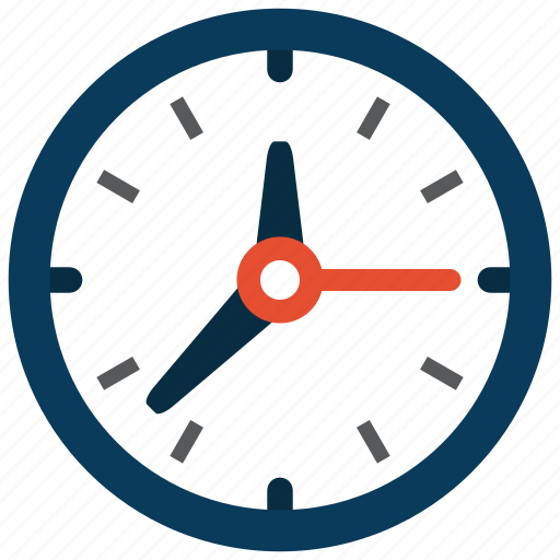 clock, time, wall icon