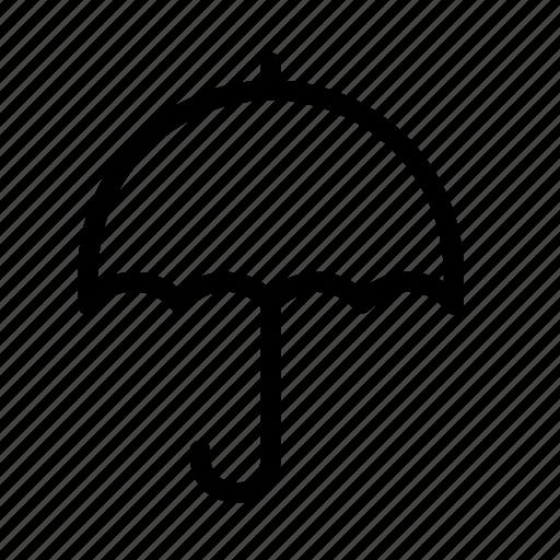 parasol, rain, umbrella, weather icon