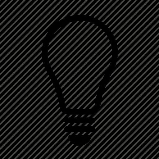 bulb, bulblight, light, lightbulb icon
