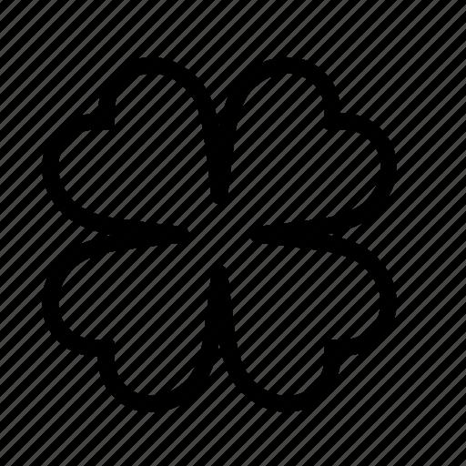 clover, leaf, nature, shamrock icon