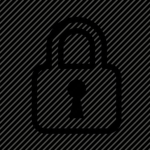 locked, padlock, security icon