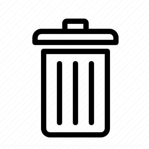 bin, paper bin, recycle, recycling, trash icon