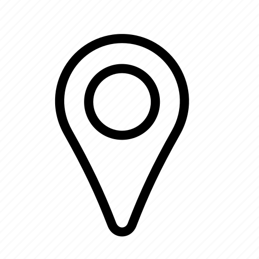 gps, landmark, location, locator, map, marker, pin icon