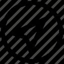navigation icon, • compas icon