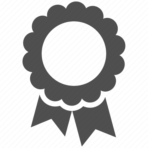 award, badge, medals, shape icon
