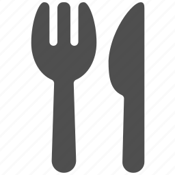 cooking, dinner, eating, fork, knife, restaurant, utensils icon