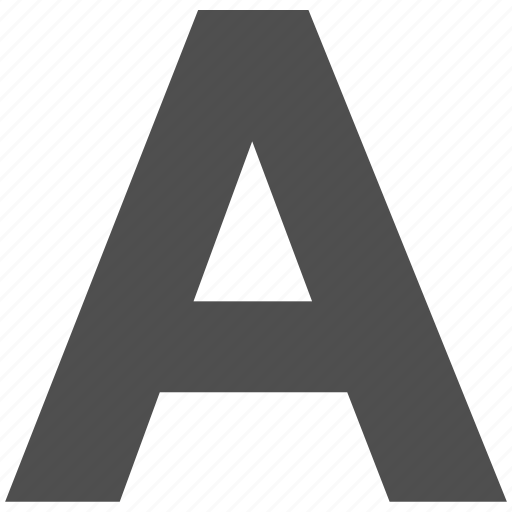 a, a sign, abc, design, font, graphic, language icon