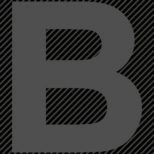 abc, b, b sign, design, font, graphic, language icon