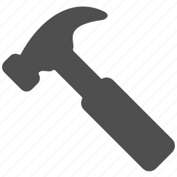 application, development, equipment, hammer, repair, work icon