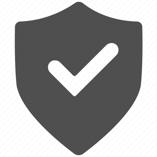 ok, protection, protection shield, safe, security, verified icon