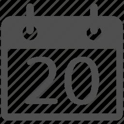 alarm, calendar, day, event, month, plan, schedule icon