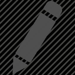 document, edit, editor, pen, pencil, text, write icon