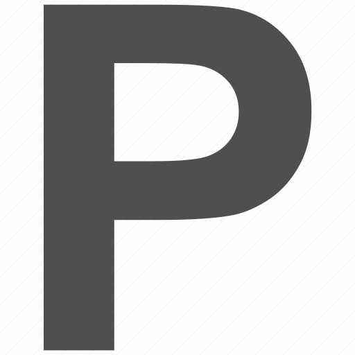 letter p, parking, parking sign, signal, traffic, trucking icon