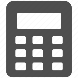 accountant, accounting, calculate, calculation, calculator, math icon