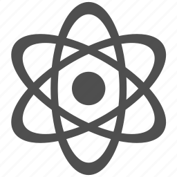 atom, atomic, energy, molecule, nuclear, physics, science icon