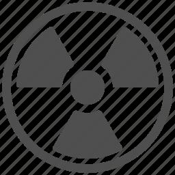 nuclear, radiation, radioactive, radioactivity icon