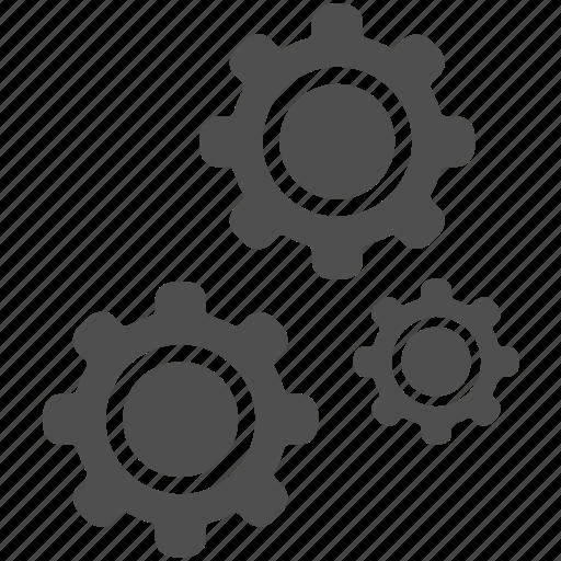 cog, gear, gears, options, repair, settings, tool icon