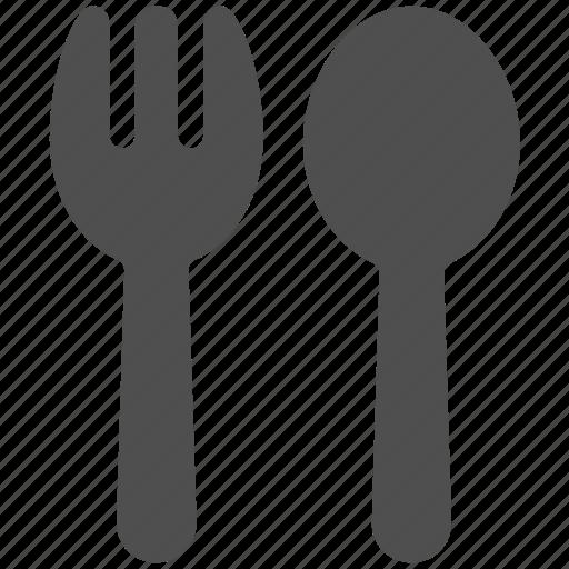 dinner, food, fork, kitchen, knife, lunch, restaurant icon