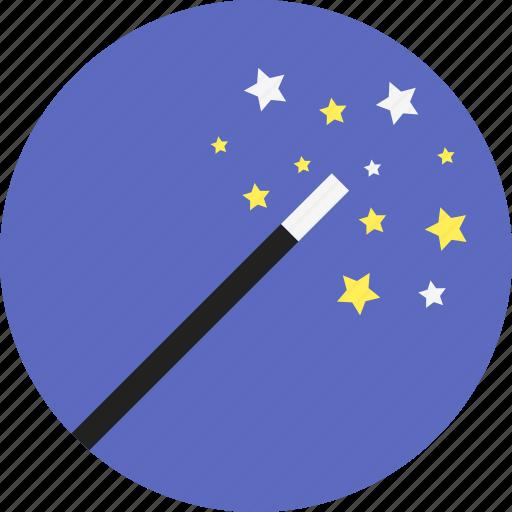 editing, enhance, filter, magic, photo, stars, wand icon
