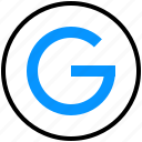 google, logo, media, network, online, search, social icon