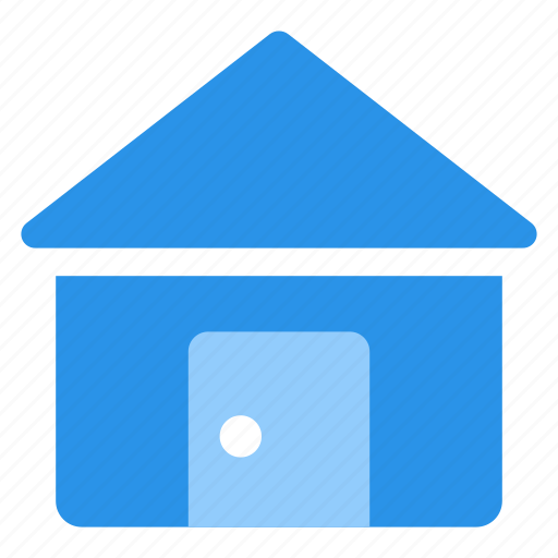cabin, estate, home, house, mortgage, real icon