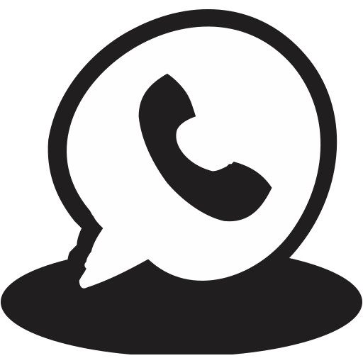 call, communication, handrawn, message, phone, reciever, telephone icon