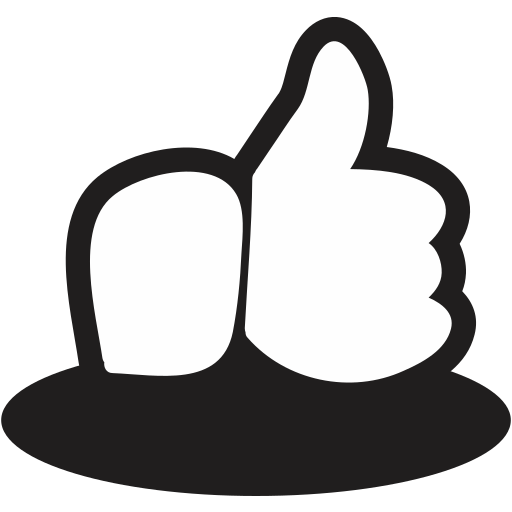 facebook, favorite, favourite, handrawn, like, social, vote icon