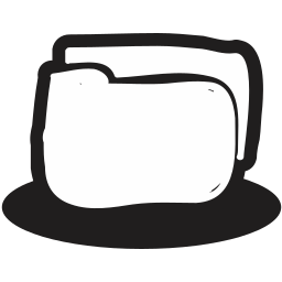 documents, files, folder, handrawn, protection, secure, security icon