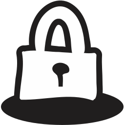 close, handrawn, lock, open, safe, safety, secure icon
