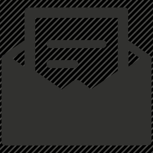 Email, envelope, letter, mail, message, newsletter icon - Download on Iconfinder