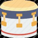 drum, instrument, music icon