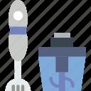 cooking, kitchen, mixer icon