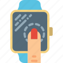 smartwatch, technology, watch icon